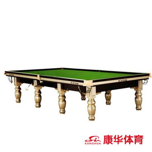 星牌英式斯诺克台球桌标准俱乐部用台 XW106-12S